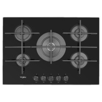 Whirlpool GOW 7553/NB 5 Gas Burners Black Hob Best Price and Cheapest