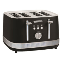 248020 Illumination 4 Slice Toaster - Black