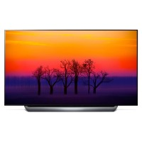 "OLED77C8LLA 77"" Smart Built in Wifi UHD 2160P OLED TV with Freeview HD Silver"