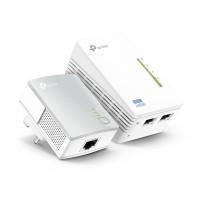 Image of TP Link TL-WPA4220 KIT Powerline 600 Wi-Fi Extender Starter Kit