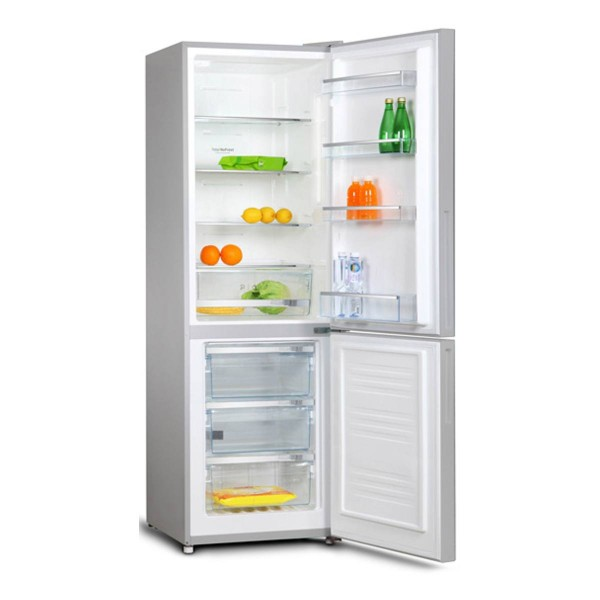 Compare cheap offers & prices of AMICA FK321-3DFX Fridge Freezer with 301L Capacity and Energy Rating in Inox manufactured by Amica