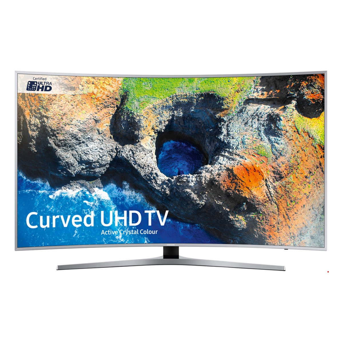 Samsung Ue55mu6500 55 Curved Hdr 4k Ultra Hd Smart Tv With Active  # Deco Table Tele Plus Homecimema