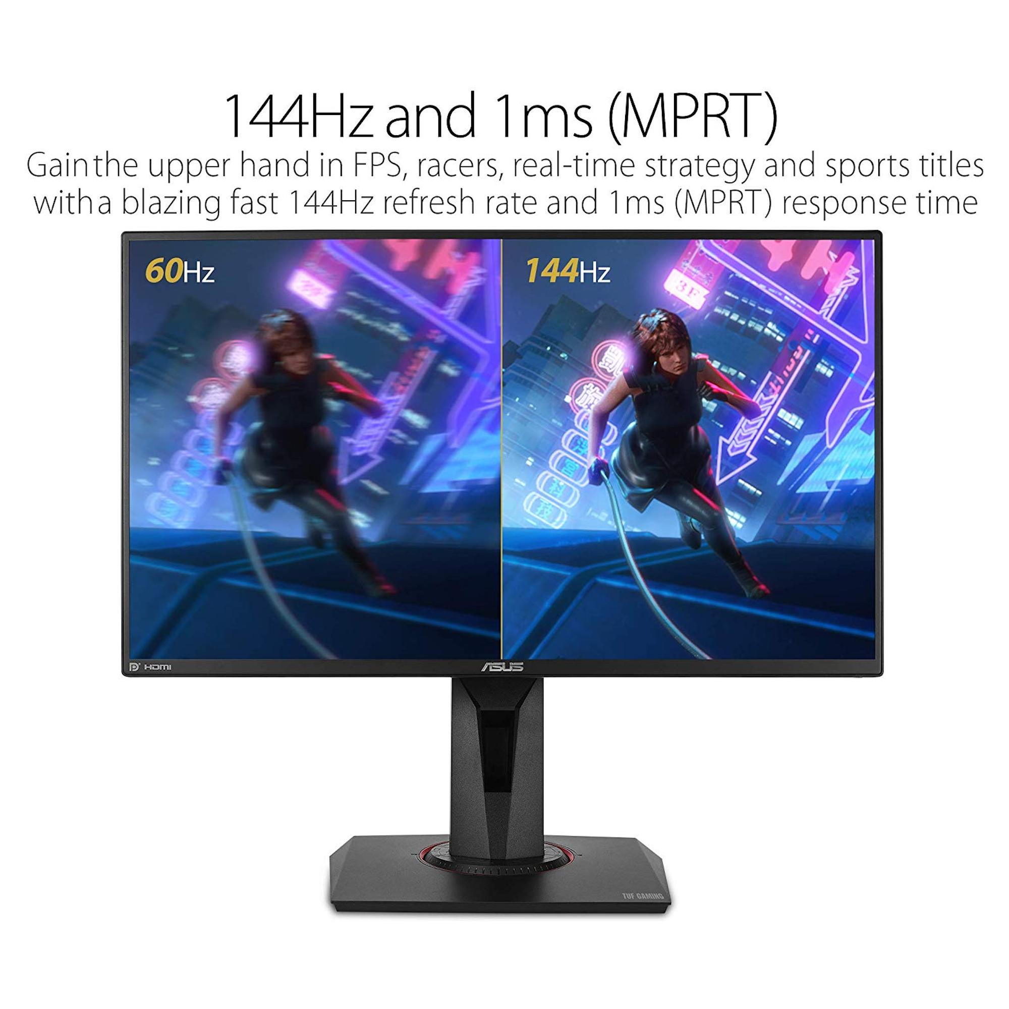 """ASUS VG259Q 24.5"""" Full HD 144Hz TUF Gaming Monitor"""