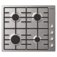 HHW6LCX Built in 4 Burner Gas Hob