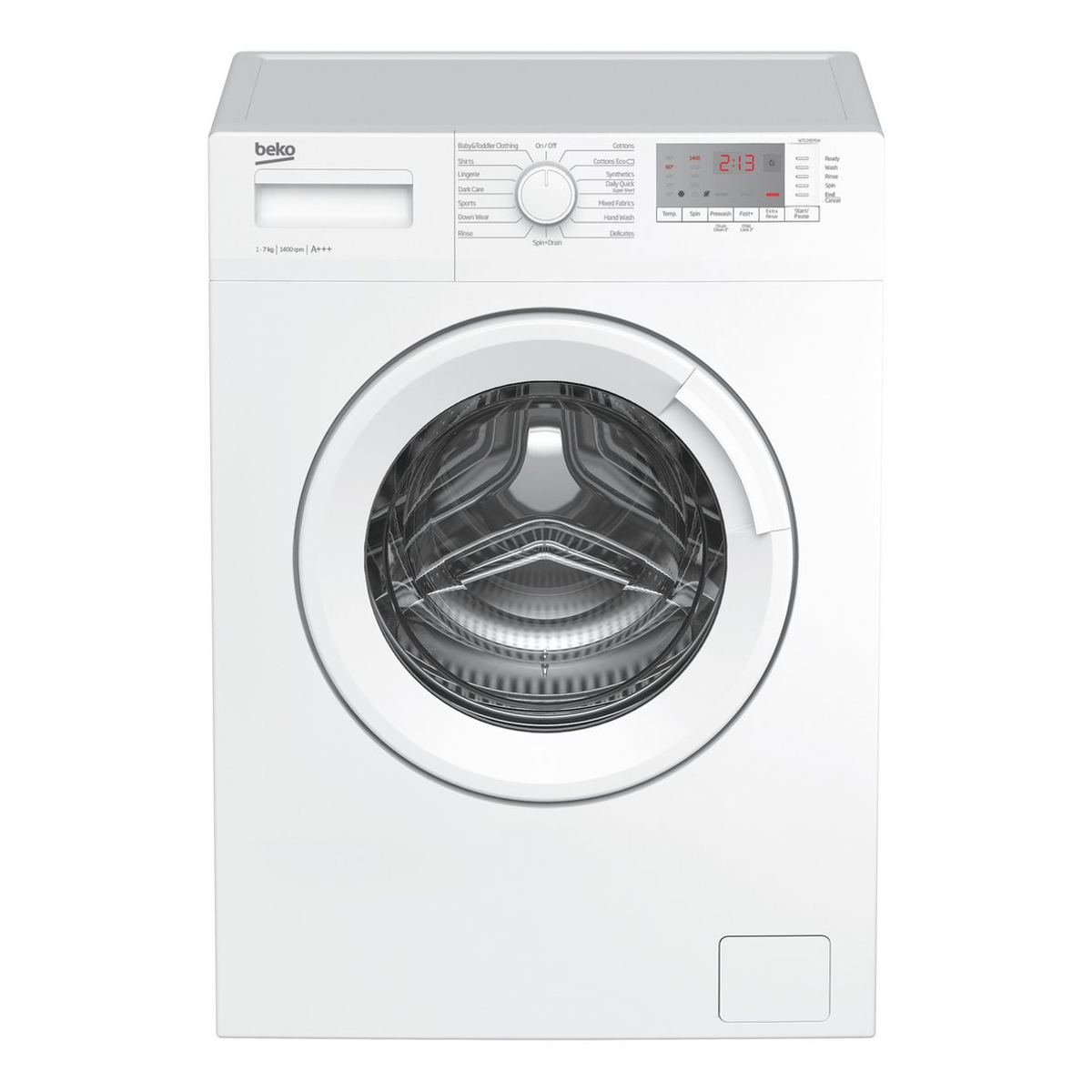 Beko Wtg741m1w 7kg 1400rpm Washing Machine Hughes