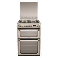 HUD61XS 60cm stainless steel dual fuel Double Oven