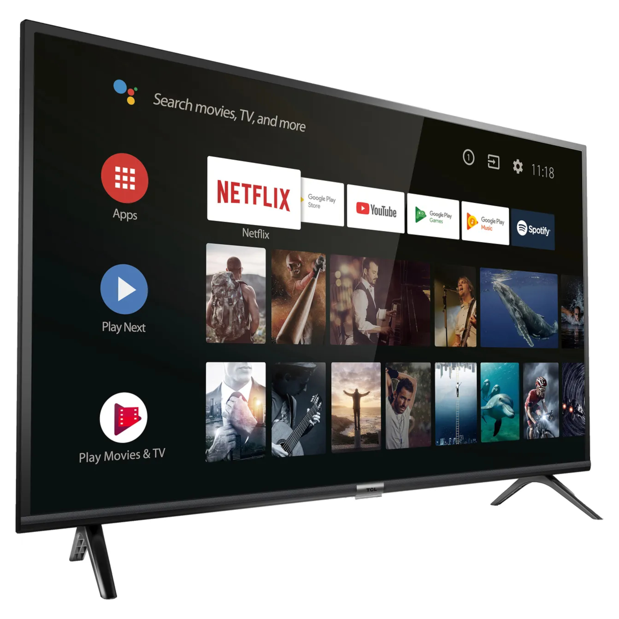 "TCL 40ES568 40"" Smart 1080p Full HD Android TV"