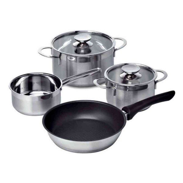 Compare cheap offers & prices of Bosch HEZ390042 Four Piece Pan Set for Induction Hobs manufactured by Bosch