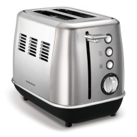 224406 2-Slot Toaster Brushed Steel