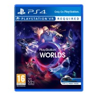 PS4 VR Worlds for PlayStation Virtual Reality Headset with 5 Unique Games