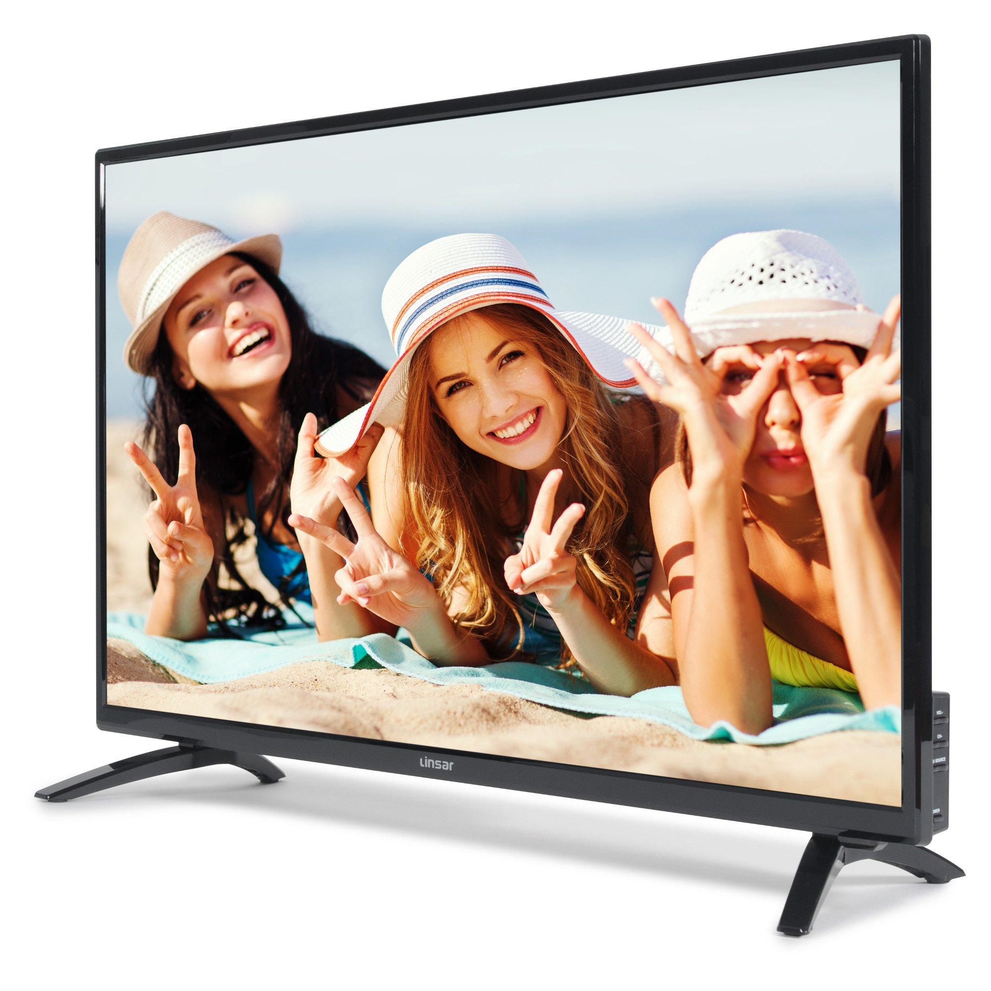 """Linsar 32DVD400 32"""" HD Ready LED TV with DVD Player"""