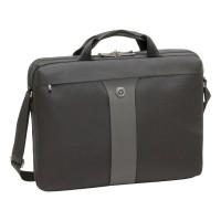 """600654-17INCH 17"""" Laptop Slim Case with Shoulder Strap in Black"""