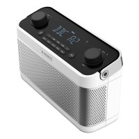 BLUTUNE5W DAB/DAB+/FM Radio with Bluetooth and Alarm in White