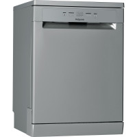 Image of HOTPOINT HFC 2B19 X UK N Full-size Dishwasher - Stainless Steel, Stainless Steel