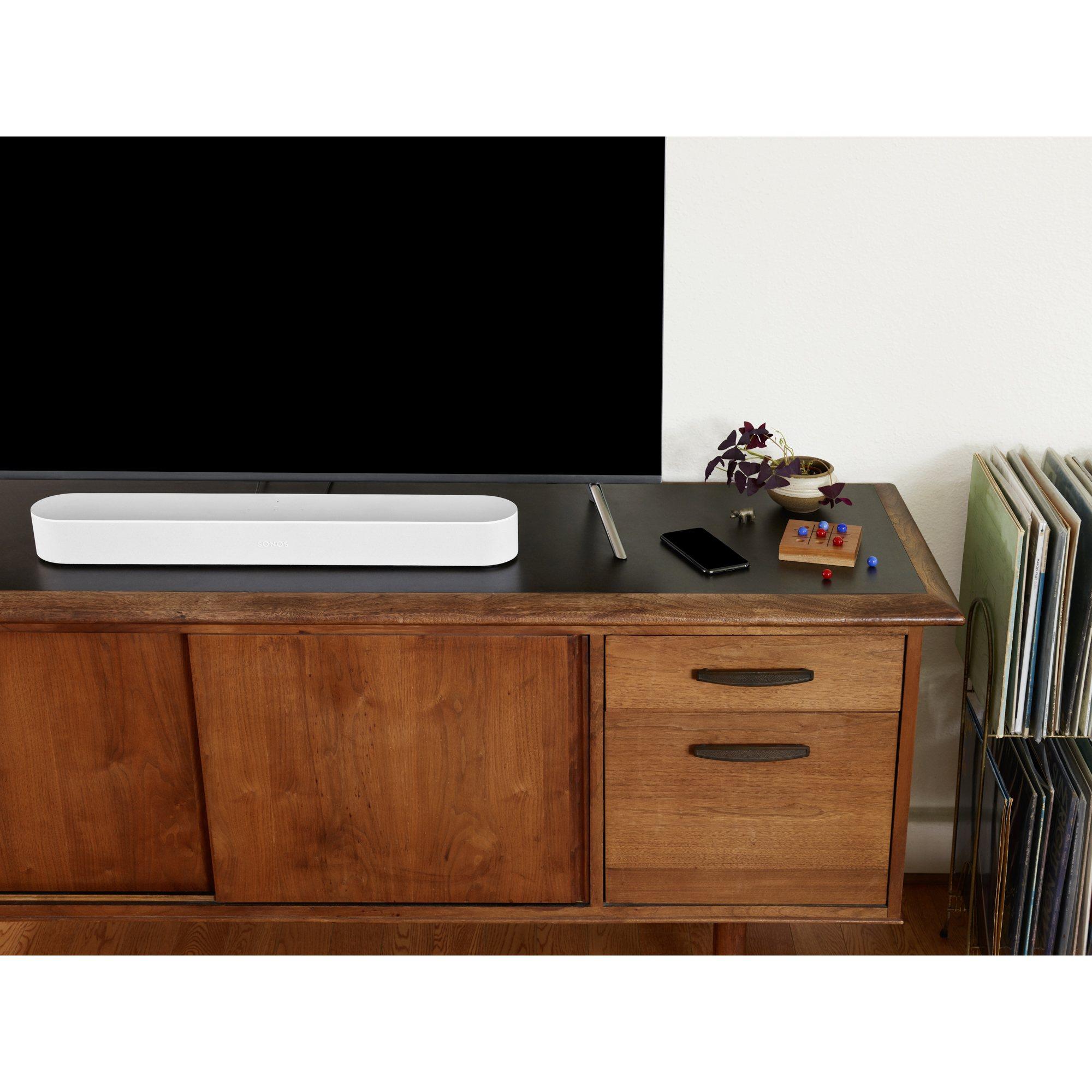 Sonos Beam Smart Soundbar with Amazon Alexa - White