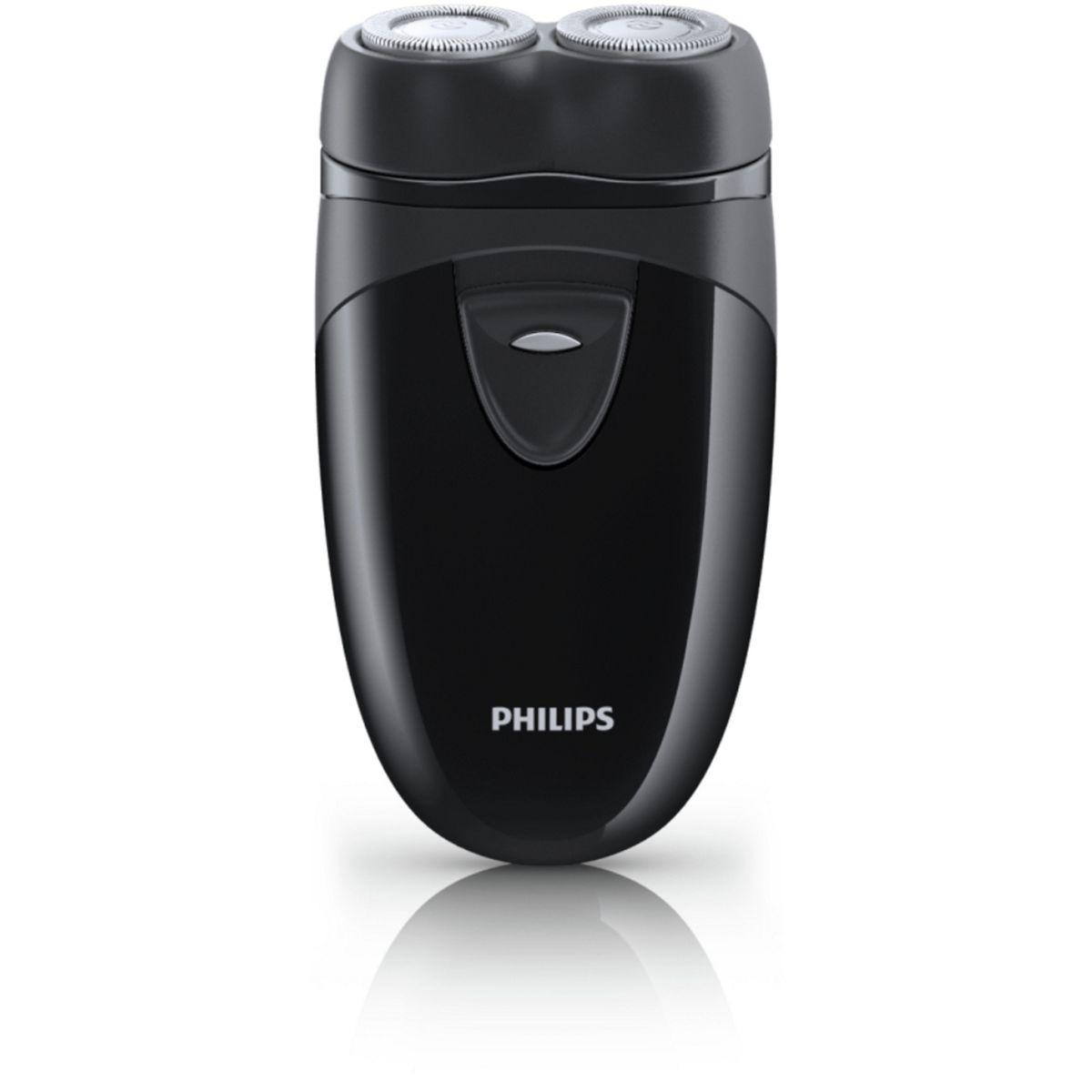Philips Pq203 Cordless Plus Travel Electric Shaver Black