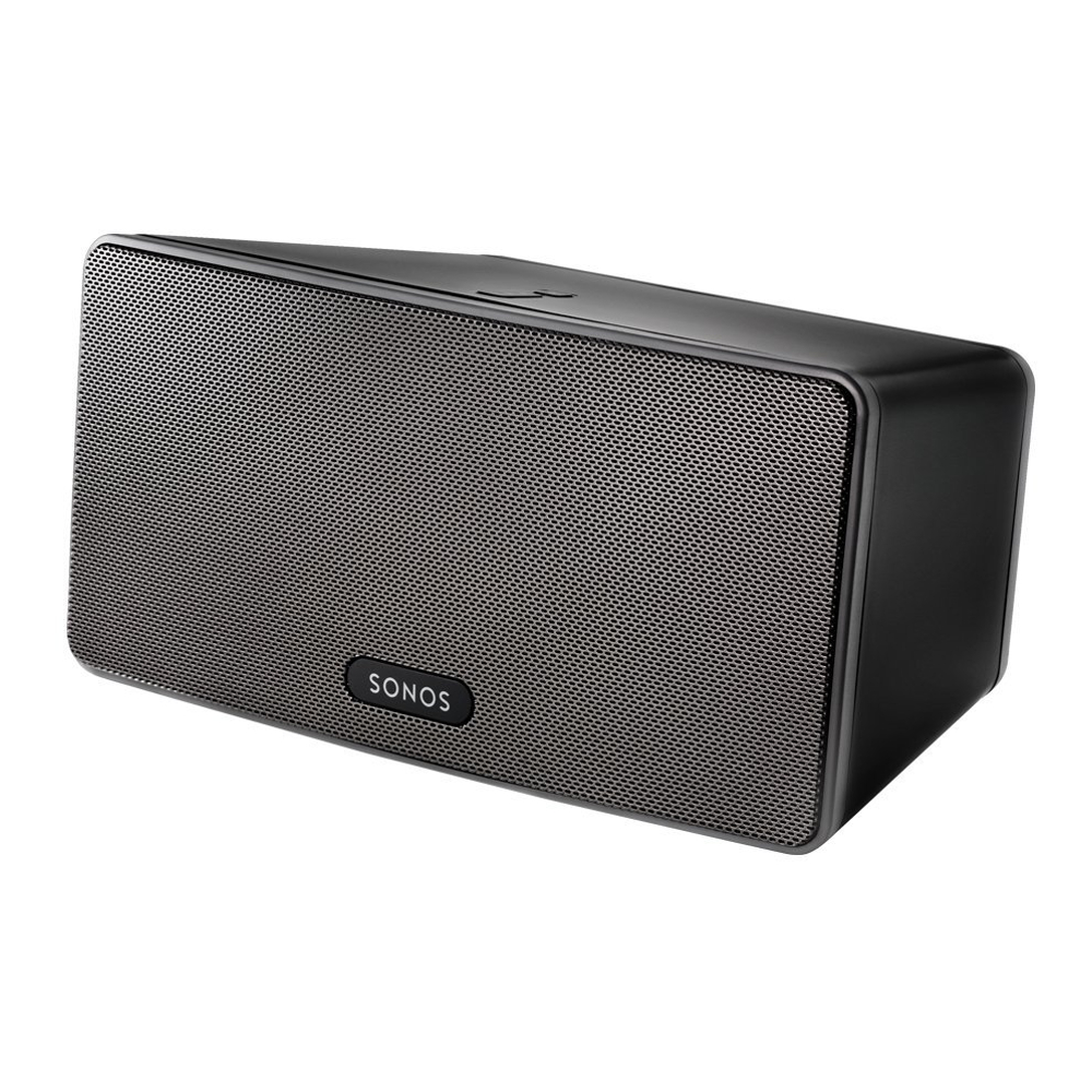 REFURBISHED Sonos Play 3 Wireless Multi-Room Audio Speaker in Black