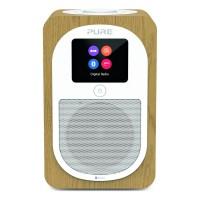 Evoke H3 Bluetooth DAB/DAB+/FM Portable Radio - Oak