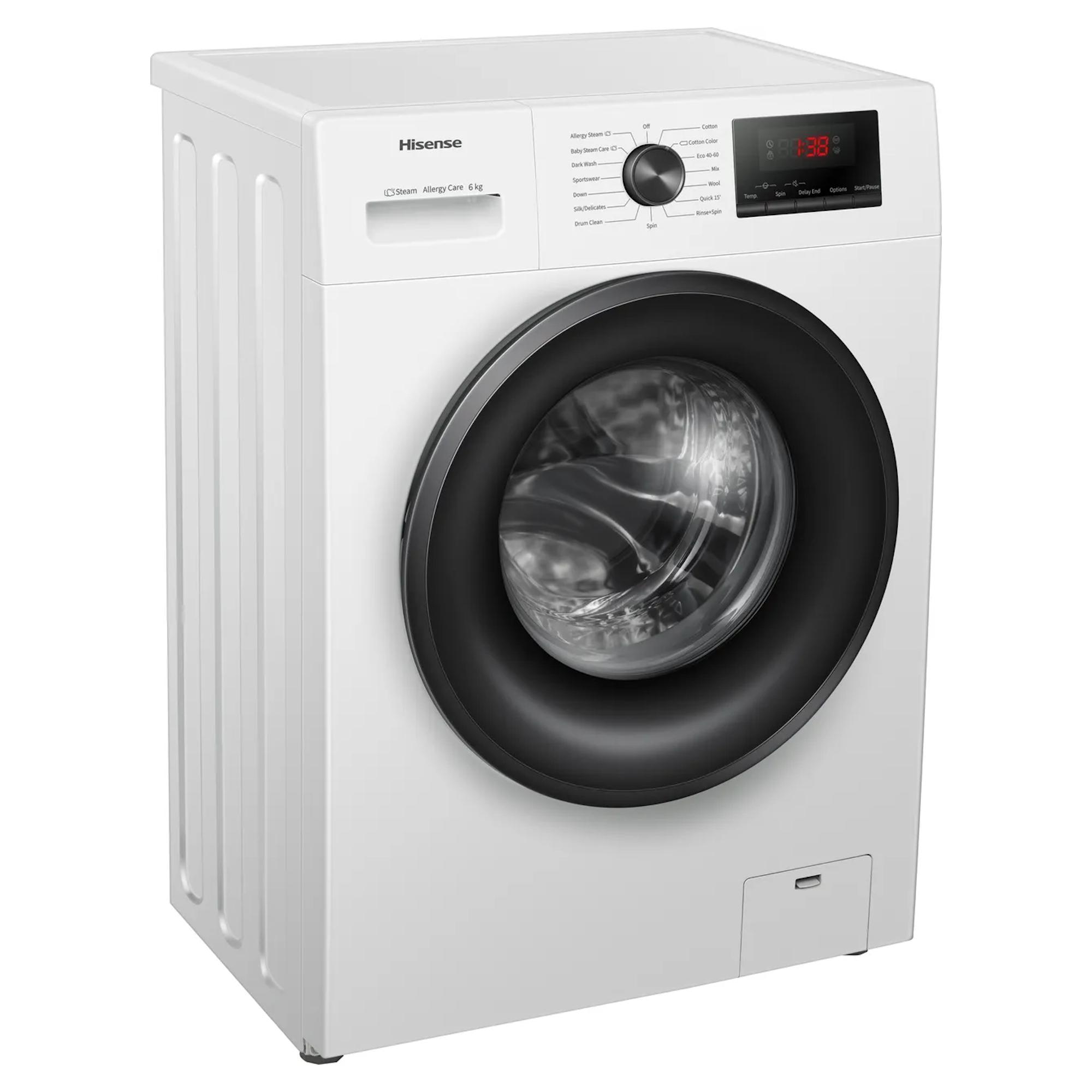 Hisense WFPV6012EM 6kg Washing Machine E Energy
