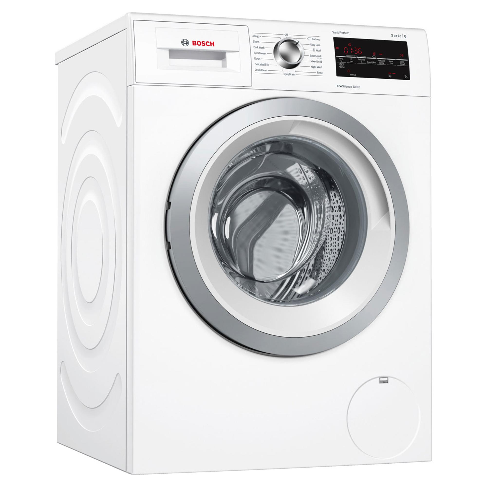 Bosch Serie 6 Wat28463gb 9kg 1400rpm Washing Machine Hughes