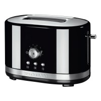 KitchenAid 5KMT2116BOB 2-Slot Manual Control Toaster - Black Best Price and Cheapest