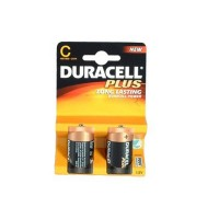 Duracell MN1400 Plus 2 Pack of C Plus Batteries