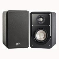 S15-BLKWLNT HiFi Compact Bookshelf Speaker with a Black Walnut Finish