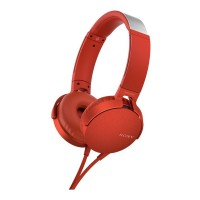 Sony MDR-XB550AP Extrabass Headphones - Red Best Price and Cheapest