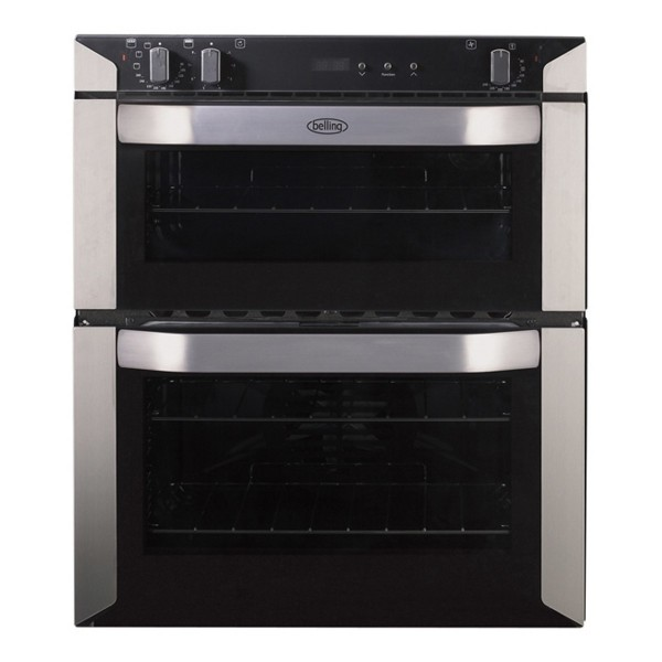 Compare cheap offers & prices of Belling BI70FPSS 595mm Electric Double Oven with 93L Capacity in Stainless Steel manufactured by Belling