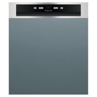 Image of HOTPOINT HBC 2B19 X UK N Full-size Semi-Integrated Dishwasher - Inox
