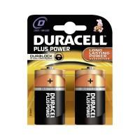 Duracell MN1300 Plus D Batteries 2 Pack