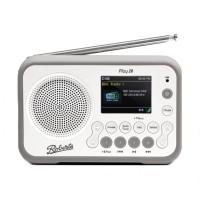 Image of Roberts Play 20 DAB DAB+ FM Portable Radio with Bluetooth White