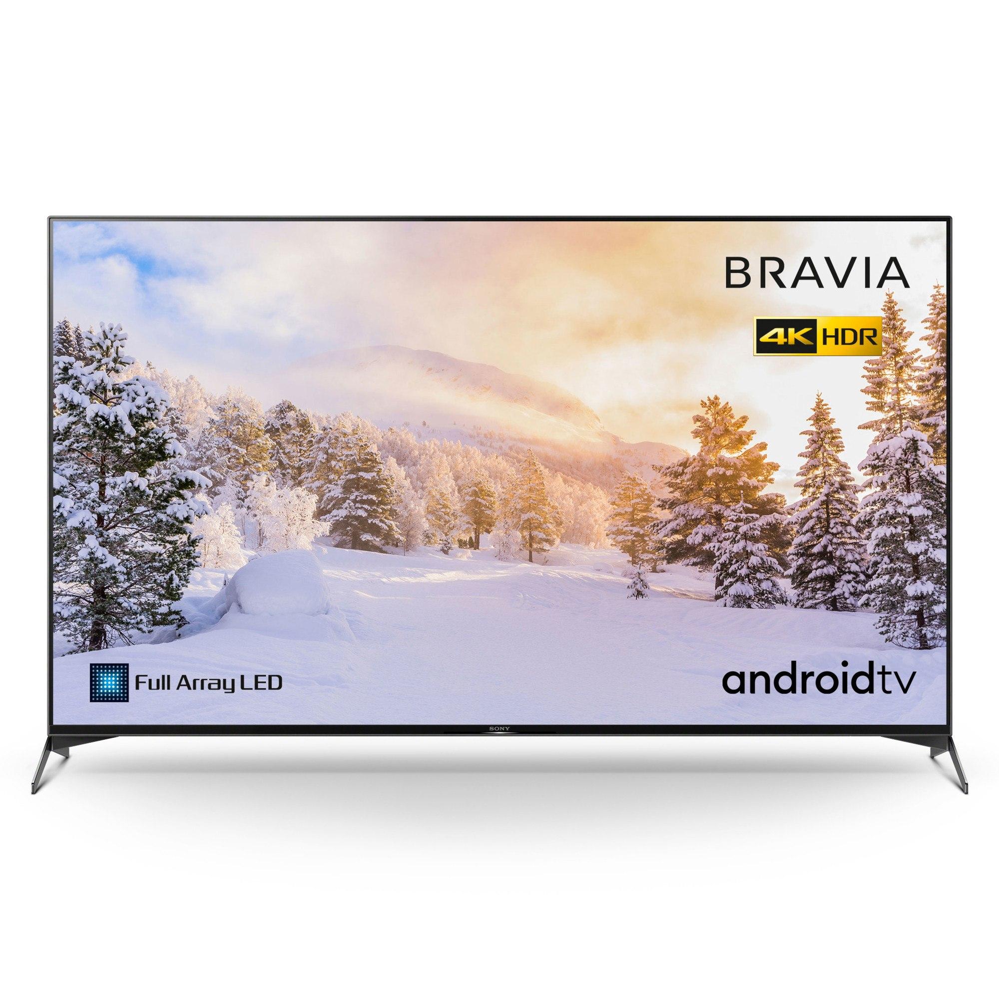 "Sony Bravia KD75XH9505BU 75"" Full Array LED 4K HDR Android TV"