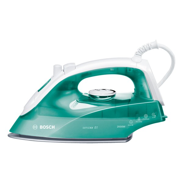 Compare cheap offers & prices of Bosch TDA2623GB Steam Iron with 2000W and 290ml Tank Capacity in Green manufactured by Bosch