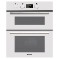 Image of HOTPOINT Class 2 DU2 540 Electric Built-under Double Oven - White, White