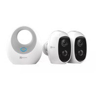 C3A WiFi Smart Security Camera Twin Pack