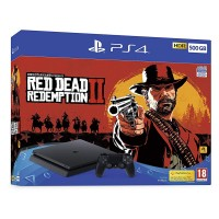 PlayStation 4 Slim 500GB with Red Dead Redemption II