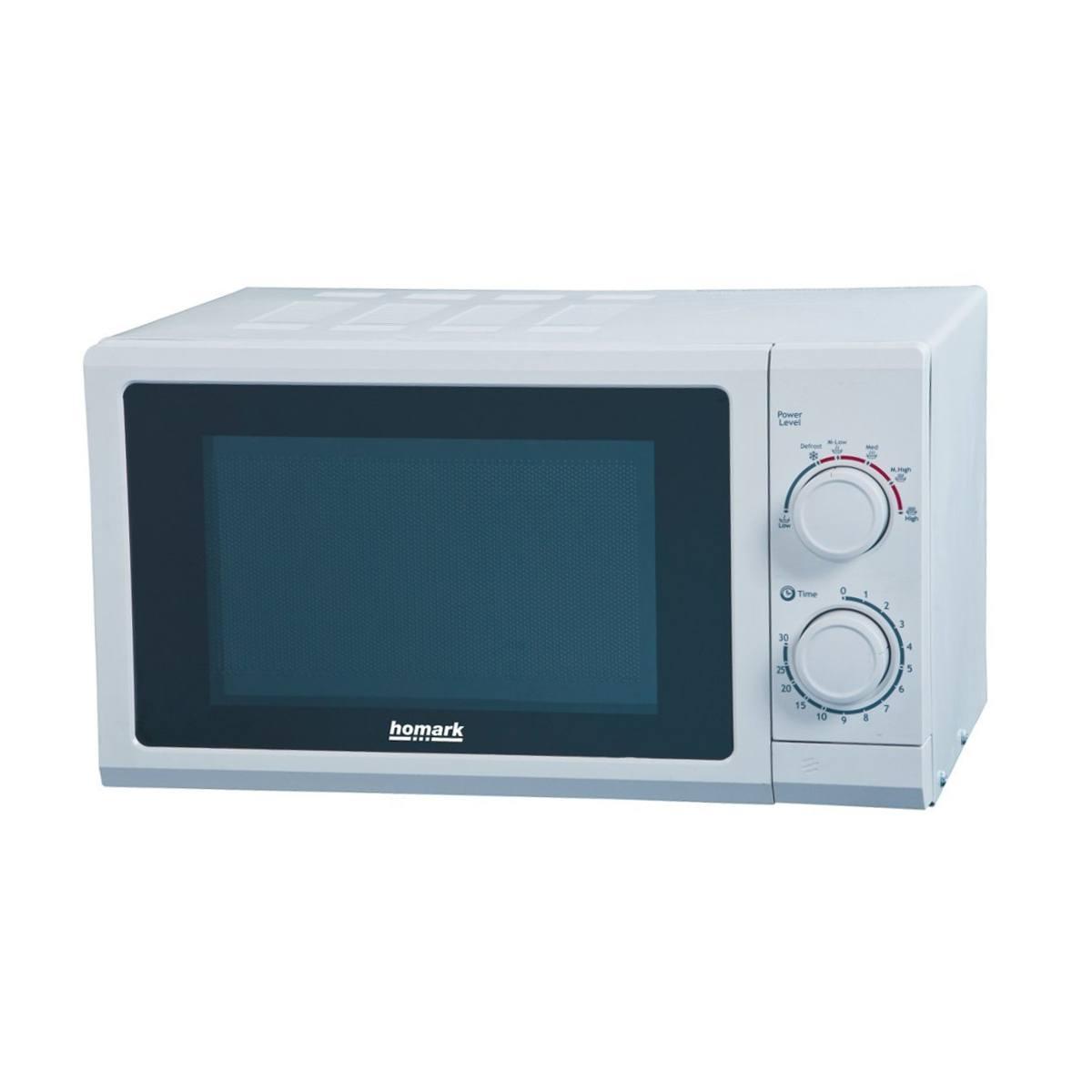 Homark 17lmwh 700w 17l Manual Control Microwave