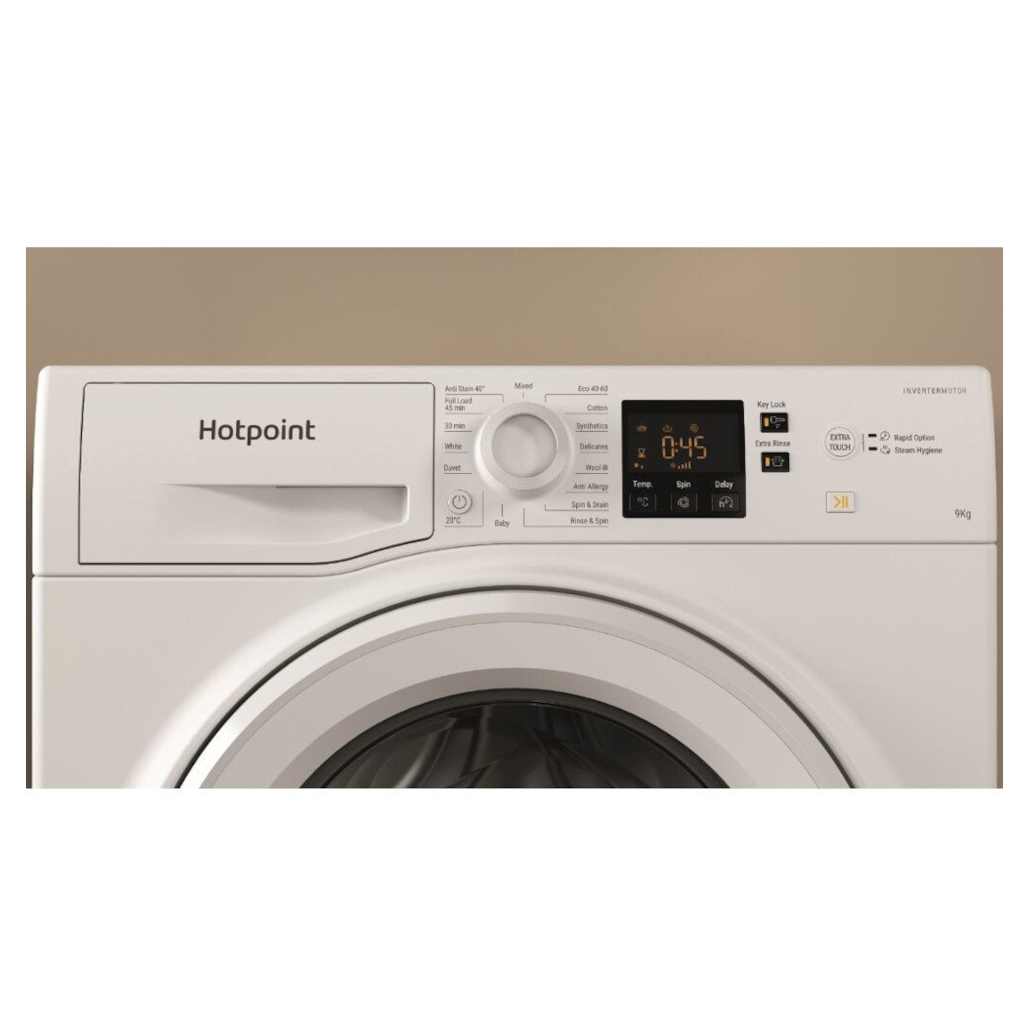 Hotpoint NSWF943CWUKN 9kg 1400rpm Washing Machine