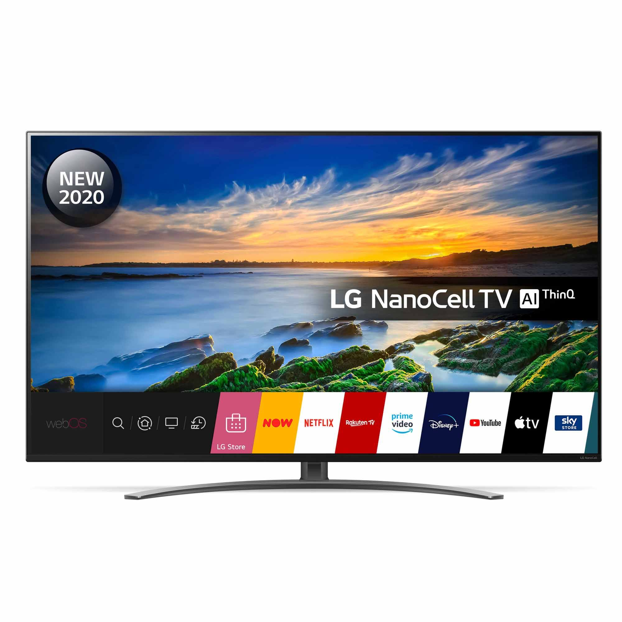 "LG 55NANO866NA 55"" 4K Ultra HD NanoCell Smart TV"