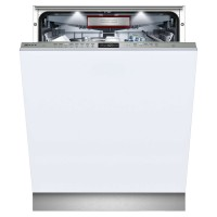 NEFF N70 S515T80D1G INTEGRATED DISHWASHER IN STAINLESS STEEL 14 places Integrated,Stainless,White