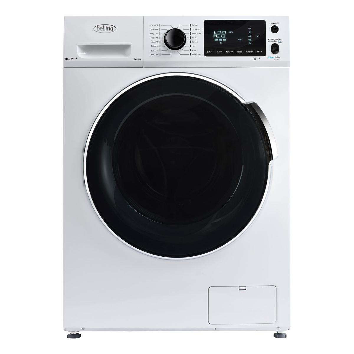 Belling Fw1016whi Freestanding Washing Machine With 10kg