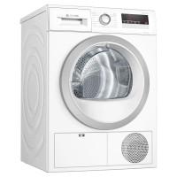 Image of BOSCH Serie 4 WTH85222GB 8 kg Heat Pump Tumble Dryer - White, White