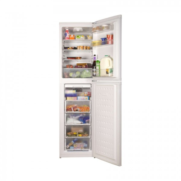 Compare cheap offers & prices of Beko CF5015APW Energy Rated Frost Free Fridge Freezer in White manufactured by Beko