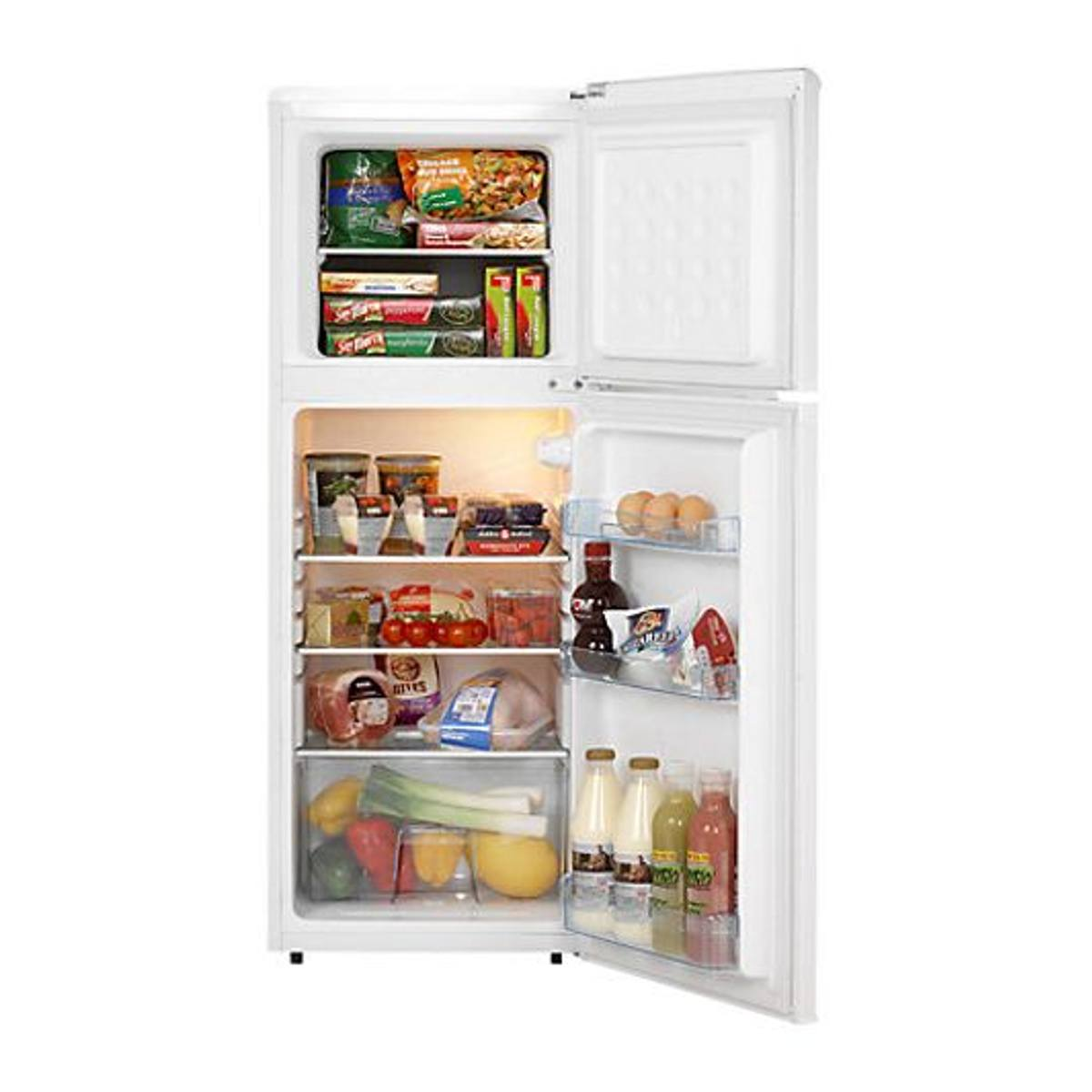 Lec T50122W A+ Energy Rated Freestanding Fridge Freezer & 97L Fridge Capacity Hughes