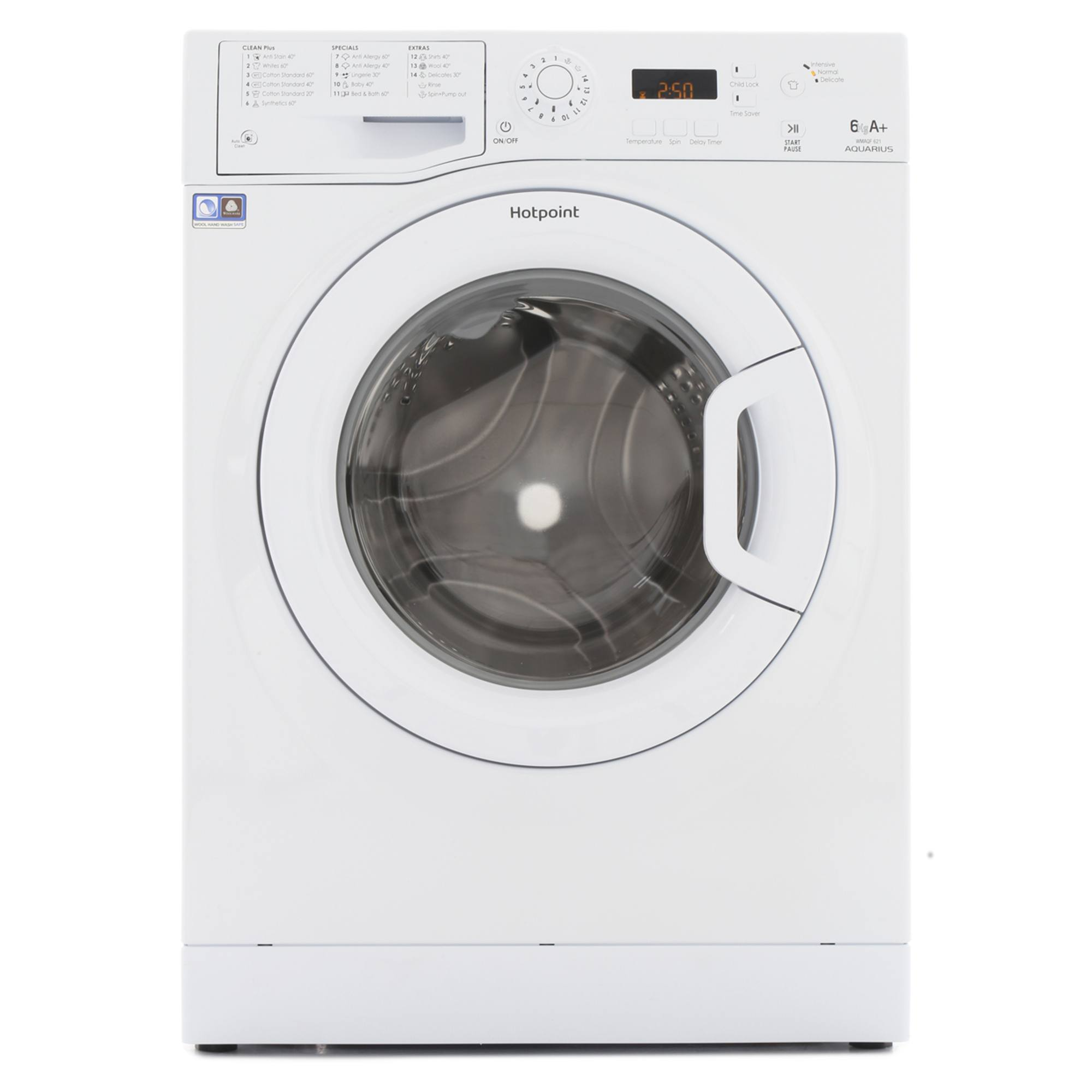 Hotpoint Wmaqf621pl 6kg 1200rpm Washing Machine Hughes
