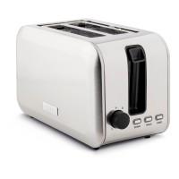 196859 2 Slice Stoke Brushed Steel Toaster