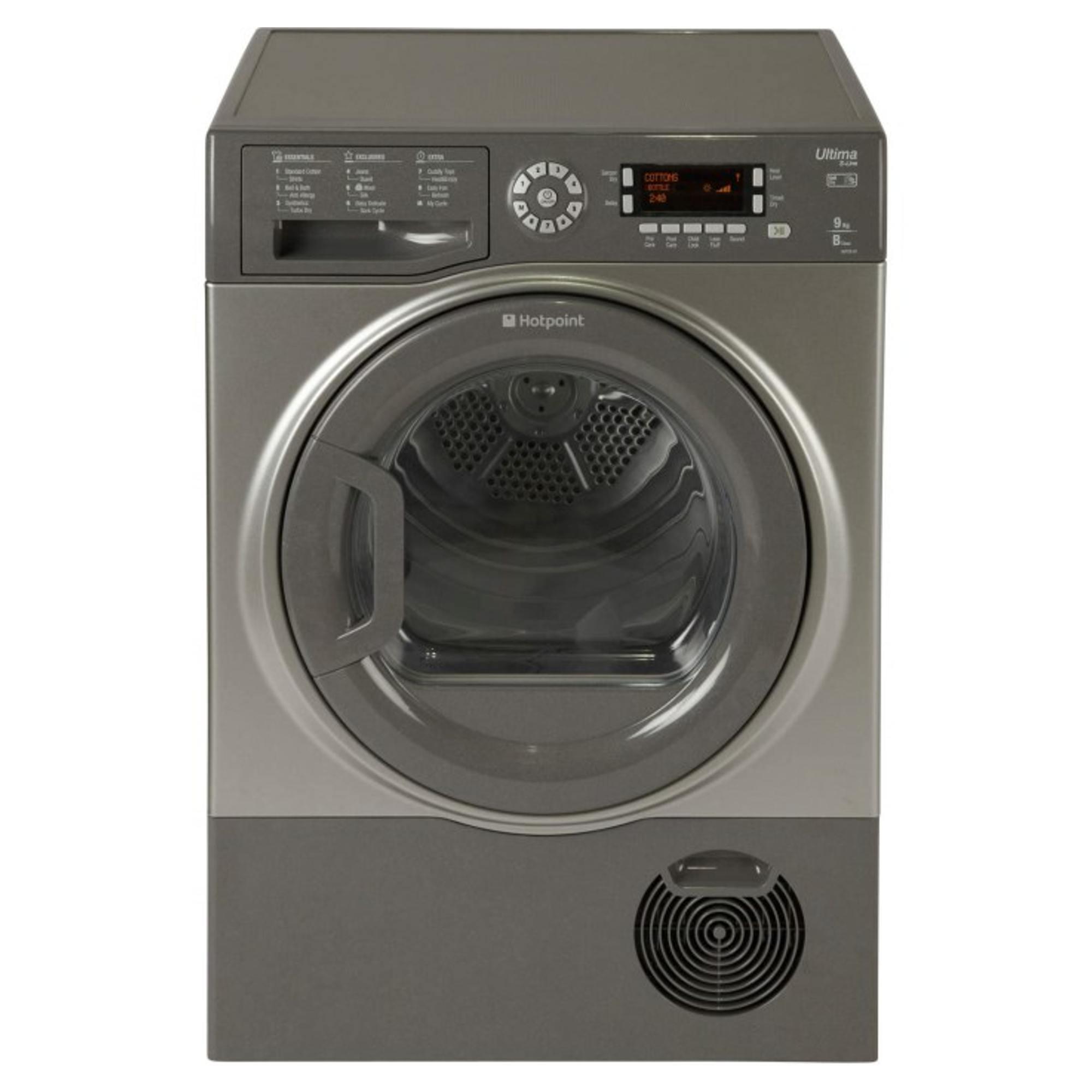 Hotpoint Sutcd97b6gm 9kg Condenser Tumble Dryer Hughes