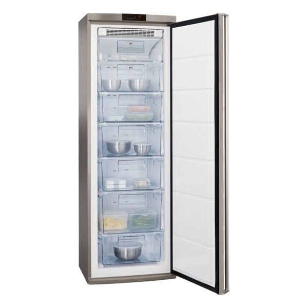 Compare cheap offers & prices of AEG A72710GNX0 Freestanding Freezer with 229L Capacity and Energy in S/Steel manufactured by AEG