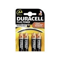 AA 4 Pack Plus Power Batteries